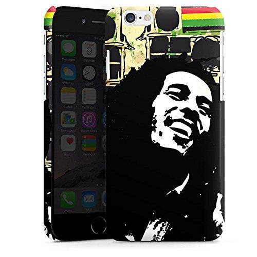 Apple iPhone 5s Housse étui coque protection Bob Marley Reggae Jamaïque Cas Premium brillant