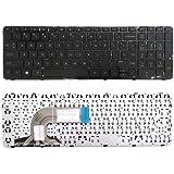 New Laptop Keyboard (with Frame) For HP Pavilion 15-n238nr 15-n239ca 15-n239nr 15-n240nr 15-n240us 15-n241ca 15-n241nr 15-n242nr 15-n243cl 15-n243nr 15-n245nr US Layout Black Color