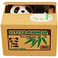 Preisvergleich für Toymio Gelddose Diebstahl Katzen Pandabär Elektronische Spardose witziges Geschenk für Weihnachtsgeschenke Kinder Geschenke (Panda)