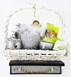 Geschenkkorb Weihnachten Geschenk für Frauen Wellness Musik Deko uvm