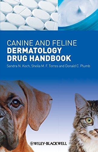 Canine and Feline Dermatology Drug Handbook 1st Edition by Koch, Sandra N., Torres, Sheila M. F., Plumb, Donald C. (2012) Paperback