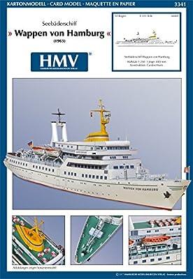 HMV 3341 Kartonmodell Wappen von Hamburg von HMV - Hamburger Modellbaubogen Verlag