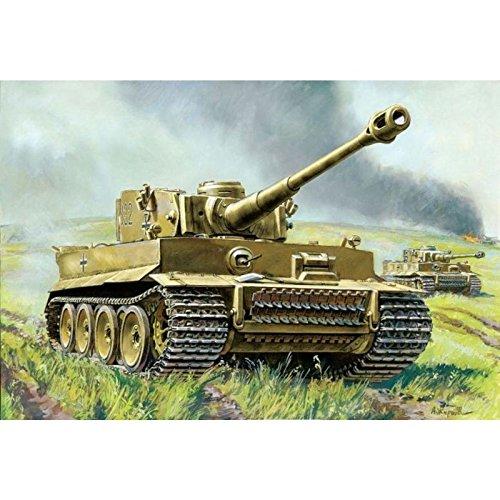 Zvezda 500786256 - 1:100 Tiger I - German Heavy Tank