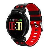 Bescita Bluetooth Smartwatch Uhr Intelligente sockenuhr Wasserdicht Fitness Tracker socken Sport Uhr mit/Kamera/Blutdruck-Test/Telefon finden/Schrittzähler/Herzfrequenz-Messgerät/Schlaftracker/Romte Capture Kompatibel mit Android/iOS (Rot)