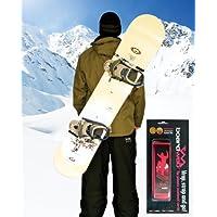 Cinta para porta tablas de snowboard en rosa neón