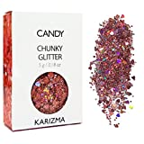 Candy Chunky Glitter ✮ Cosmetic Glitter ✮ Festival Glitter Sparkle Face Body Hair Nails