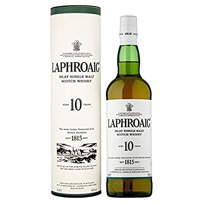 Laphroaig 10 Year Old Single Islay Malt Whisky 70cl - (Pack of 2)