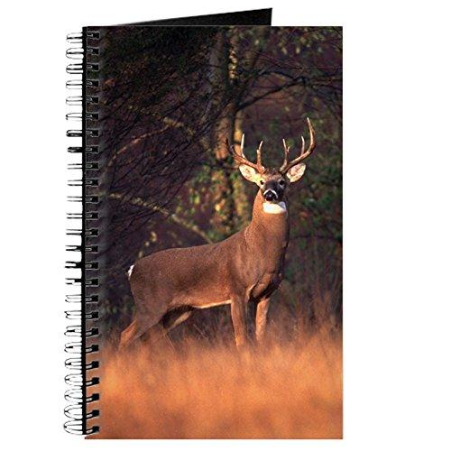 CafePress Whitetail Reh Notizbuch, Spiralbindung, persönliches Tagebuch, Punktraster -