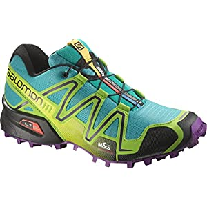 Salomon Damen Speedcross 3 Traillaufschuhe, blau, 42 EU