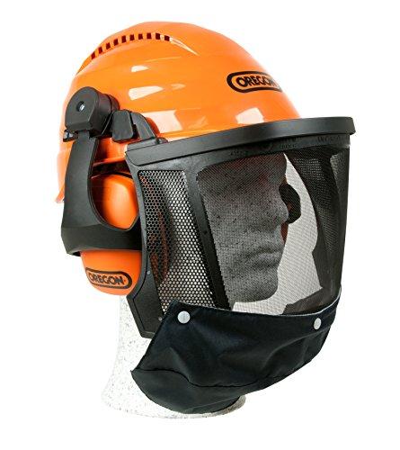 forsthelm technical Kopfschutz/Schutzhelmkombination Waipoua, stoß- und kratzfester ABS – Helm, erweiterter Gesichtsschutz und optimale Geräuschdämpfung, waschbares Schweißband, SNR-Wert: 27 dB