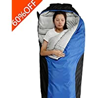 FARLAND Camping Sleeping Bag-Envelope Mummy Outdoor Lightweight Portable Waterproof Perfect for 0 degree Traveling,Hiking Activities