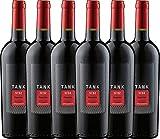 6er Paket - TANK No 32 Primitivo Appassimento 2016 - Cantine Minini | italienischer Rotwein | halbtrockener Wein aus Apulien | 6 x 0,75 Liter