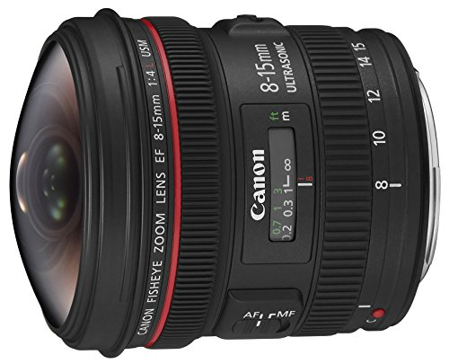 Canon EF 8-15mm f/4L Fisheye USM - Objetivo para Canon (distancia focal...