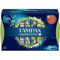 Tampax Compak Pearl Super Tampones con Aplicador - 36Unidades