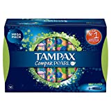 Tampax Compak Super Pearl Applicator Tampons, Pack of 36