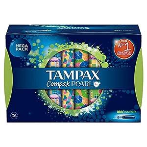 Tampax Compak Pearl Super Tampons, 36 Stück