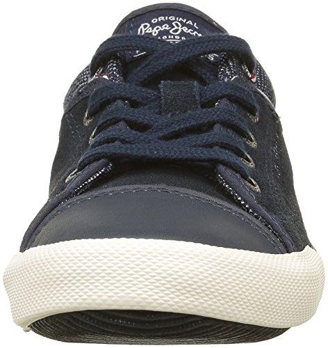 Pepe Jeans Jungen Britt Sneaker Bleu (591Ink)