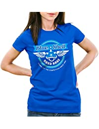 style3 Blue Shell Kart T-Shirt Femme jeux video console mario