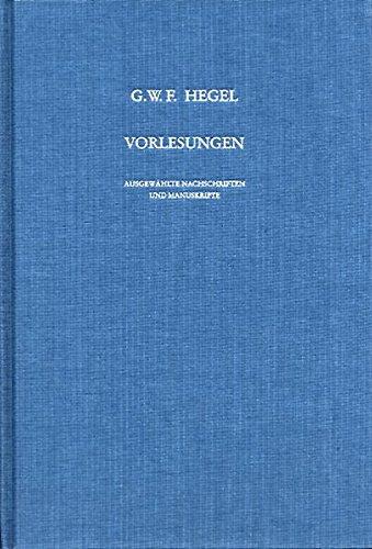 Vorlesungen, Ausgewählte Nachschriften und Manuskripte, Bd.10, Vorlesungen über die Logik (Berlin 1831), nachgeschrieben von Karl Hegel.