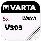 VARTA KNOPFZELLEN 393 SR754W (5 Stück, V393)