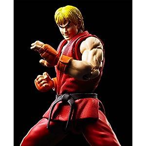 Bandai – Ken Masters Street Fighter Figuarts No.07, BDISF238942