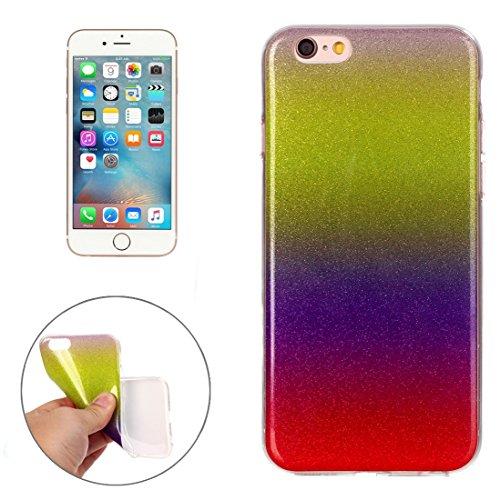 BING Für iPhone 6 / 6s, IMD Color Fades Glitter Powder TPU Schutzhülle BING ( SKU : IP6G8686F ) IP6G8686N