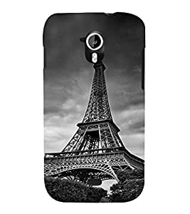 Eiffel tower 3D Hard Polycarbonate Designer Back Case Cover for Micromax Canvas HD A116 :: Micromax A116 Canvas HD