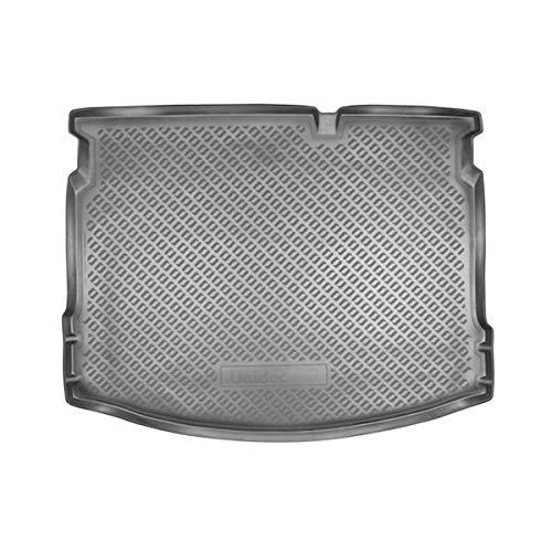 Sotra Auto Kofferraumschutz für den Nissan Qashqai - Maßgeschneiderte antirutsch Kofferraumwanne für den sicheren Transport von Einkauf, Gepäck und Haustier