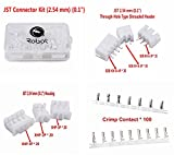 "Wiring Products - JST Connector Kit (2.54 mm) (0.1""), Application for Industrial & Scientific/Computer/Tools & Home Improvement/Toys & Games/DIY Electronic Building Blocks/Communications/Cell Phones & Accessories/Consumer Electronics."
