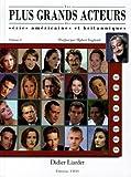 Image de Les plus grands acteurs des séries américaines et britanniques : Volume 2