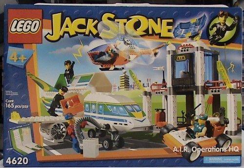 LEGO Jack Stone 4620 A.I.R. Operations HQ