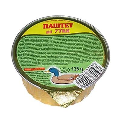 Brotaufstrich mit Geflügelseparatorenfleisch und Entenherzen