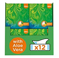 Cubes 12) : Kleenex Balsam Cube Facial Tissues, Pack Of 12 Tissue Boxes