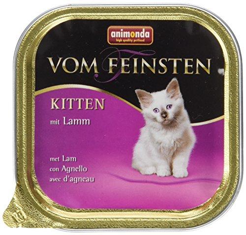 Animonda vom Feinsten Katzenfutter Kitten, mit Lamm, 32 x 100g