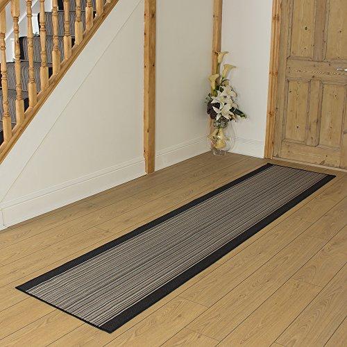 Carnaby Black - Long Hall & Stair Carpet Runner