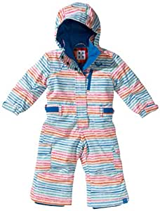 Roxy Girl's COLDSPELL JUMPSUIT-Coldspell Jumpsuit Snowsuit - Multicolor, 4-5 Years