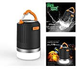 LED Camping Lantern,Portable Ultra Bright Outdoor Lamp & 8800mAh Power Bank, IP65 Rechargeable Waterproof Multifunctional Perfect for Outdoors Backpacking Hiking Camping Fishing