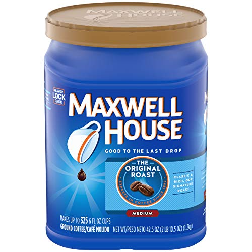 Maxwell House Original Roast Ground Coffee 42.5 Ounce Value Container by Choceur