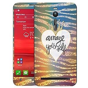 Theskinmantra Amaze Yourself Asus Zenfone 2 mobile skin