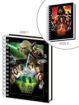 Star Wars A5Carnet Design Choisissez votre côté