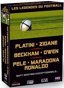Les légendes du Football - coffret 3 DVD