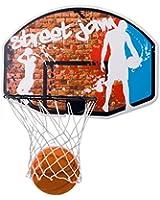 Charles Bentley Basketball Set With Size 7 Ball 45Cm Hoop & Net 90Cm Backboard