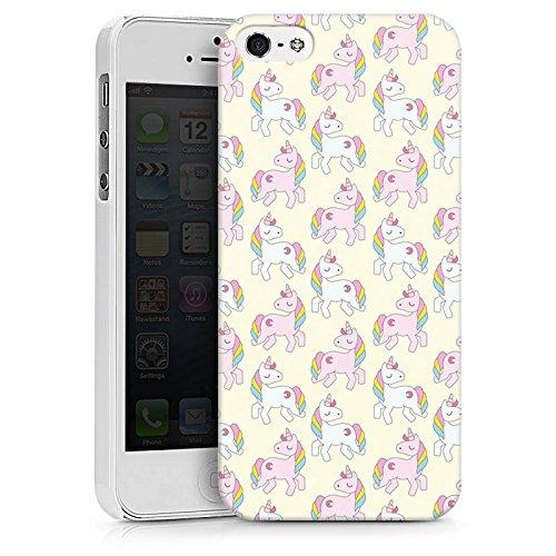 Apple iPhone X Silikon Hülle Case Schutzhülle Comic Style einhoerner einhörner Hard Case weiß