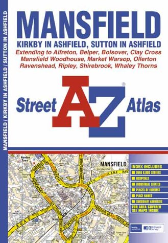 A-Z Mansfield Atlas (Street Atlas), used for sale  Delivered anywhere in UK