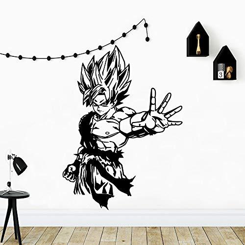 Personalisierte Dragonball Wandaufkleber Selbstklebende Vinyl Wasserdichte Schlafzimmer Kinderzimmer Dekoration Hintergrund Wandkunst Aufkleber A3 28 * 38 cm
