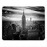 Addies Mousepad NEW YORK, schönes Mauspad Motiv in feiner Cellophan Geschenk-Verpackung mit Kautschuk Untermaterial, 240x190mm - Motiv-04