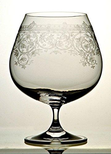 6 Er Set Lucca Cognac Schwenker 400 Ml