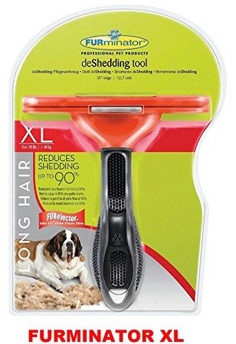 Furminator long hair deShedding Tool for Large Dogs Size XL 1
