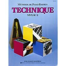 Bastien James Methode De Piano Bastien Technique Niveau 2 Pf Bk French