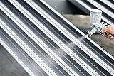 2K Epoxidharz Grundierung Rostschutz für Stahl, Edelstahl Korrosionsschutzgrund außen innen | LS-301 EP Haftgrundierung Korrosionsschutz Wasser- & Chemikalienbeständig INDUSTRIEQUALITÄT (2,5KG, Grau)
